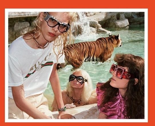 時髦LOGO Tee 2–GUCCI 復古T-shirt