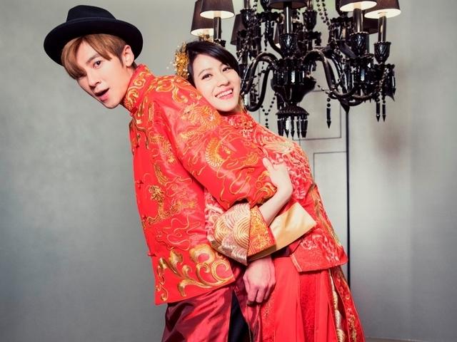 《如朕》祭雙結局 李國毅連俞涵中式婚紗曝光