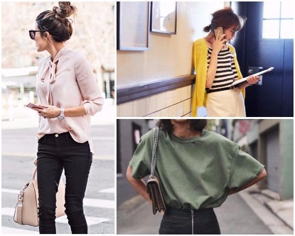 別再只是穿襯衫!用知性粉、專業白「色系穿搭」打造週間Office Look