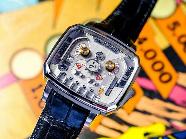 Baselworld 2017獨立製錶Hautlence(豪朗時)彈珠台腕錶實玩