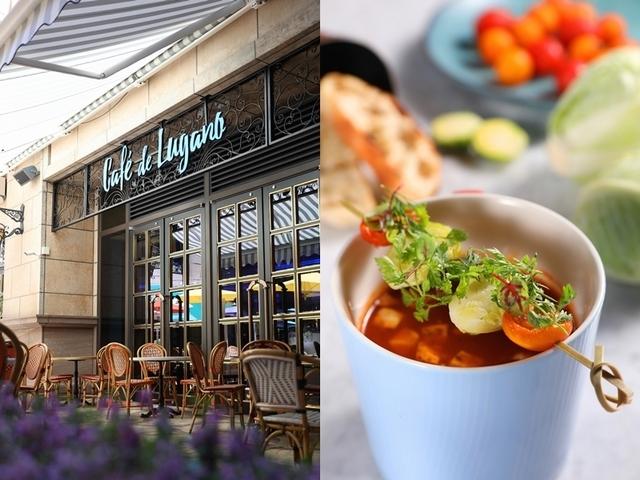 一秒置身歐洲!從早午餐到宵夜場都可以享受的咖啡館