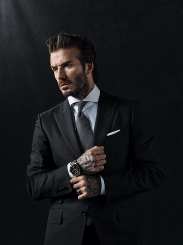 Baselworld 2017天生敢為——帝舵表(Tudor)宣布貝克漢擔任品牌全球代言人!