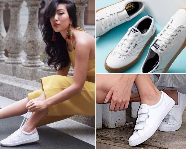 想要潮上天還是得靠小白鞋!今夏紅遍韓國街頭、Krystal愛鞋熱賣款就是他