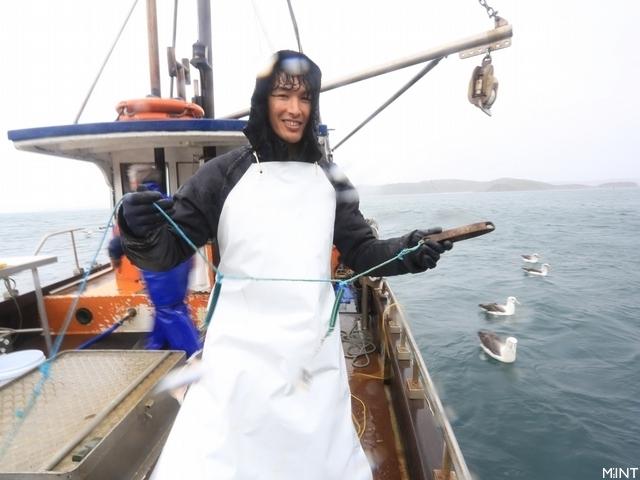 錦榮濕身直搗南極海 意外捕獲鯊魚群