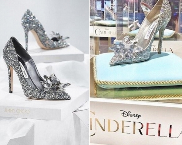 一圓妳的公主夢!7000顆水晶鑲嵌的夢幻玻璃鞋  宛如童話裡走出來!