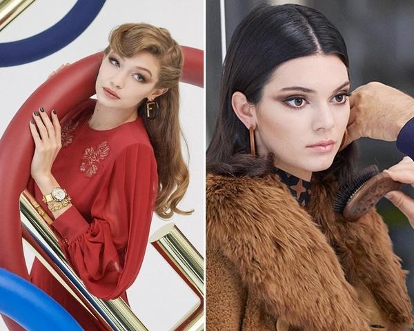 最佳閨蜜典範!超模Gigi、Kendall一同化身90年代女伶 拍攝大片超合拍