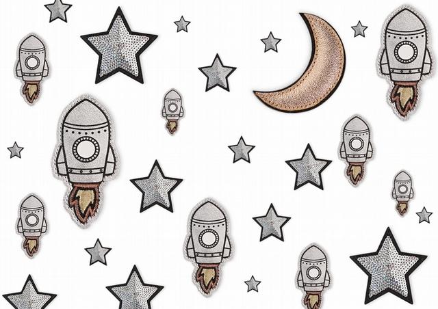 對神秘外太空充滿幻想的「火箭」、「星星」