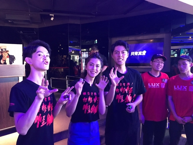 蔡凡熙跑30場映後   《報告老師!》登新片票房冠軍