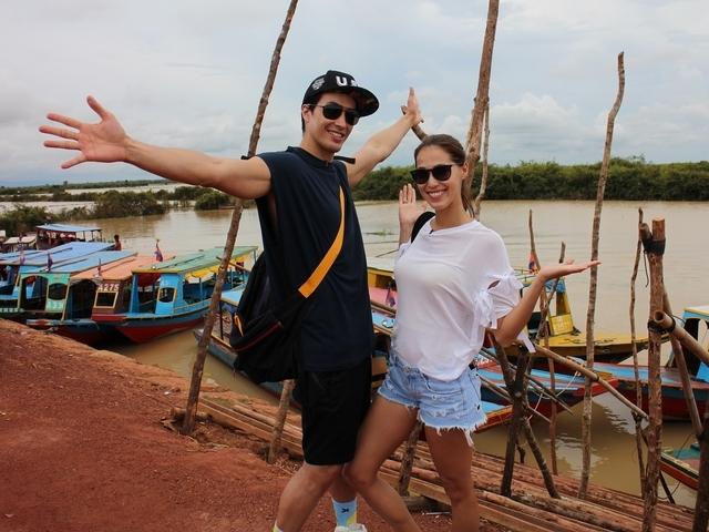 錦榮Akemi同遊柬埔寨 組越野隊比大膽