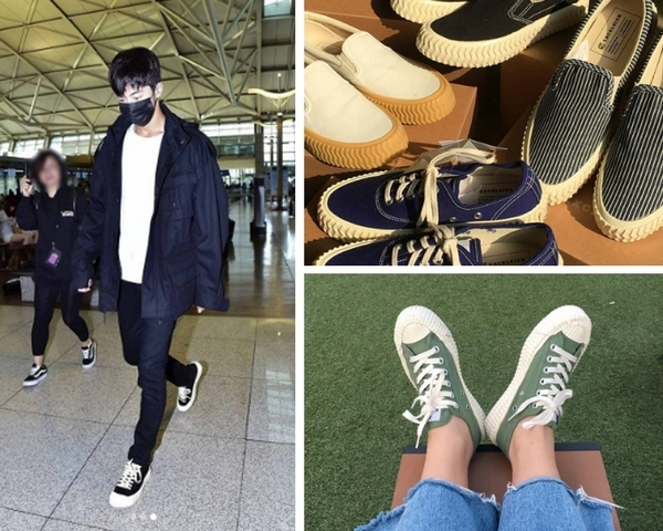 布鞋控不用再代購!南柱赫私下也愛穿、韓國「餅乾鞋」新光A11快閃優惠中