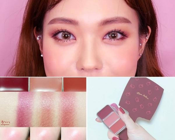 韓妞美妝部落客Heizle的秋冬 #MLBB妝!帶點微醺、甜甜的法式莓果妝容