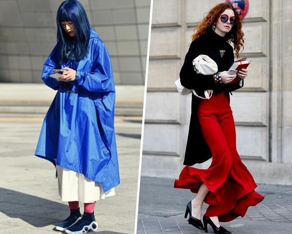 熱情紅 V.S 冷調藍  秋冬就用一抹亮色為穿搭加分