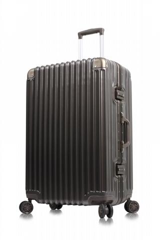 MONTAGUT 再現絕美新色  超輕鋁鎂框雙扣密碼鎖旅行箱