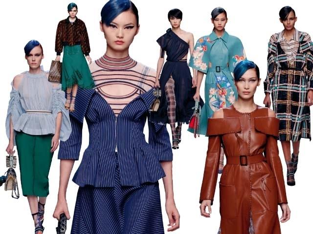 2018春夏米蘭女裝周Fendi    新未來主義