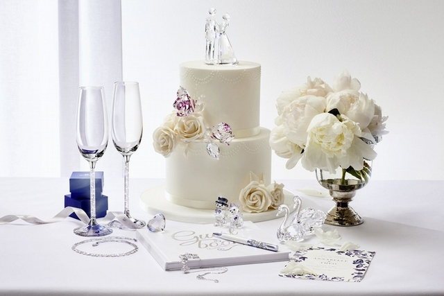 新娘也走冰雪風!Swarovski冬季婚禮系列一圓妳的公主夢