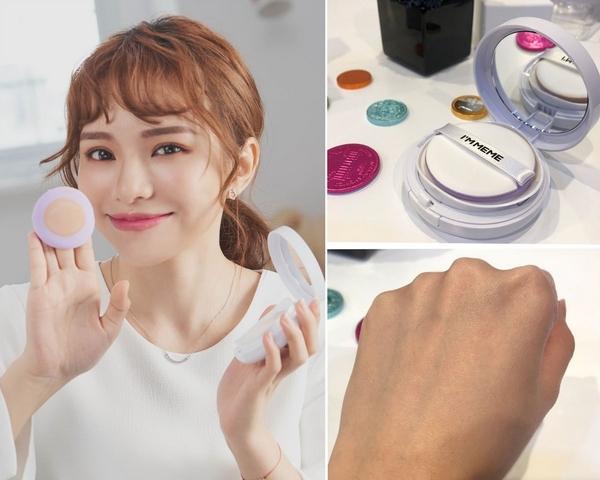 韓國一個月熱銷6000顆!I'M MEME首款氣墊粉餅讓你一拍就自帶光圈