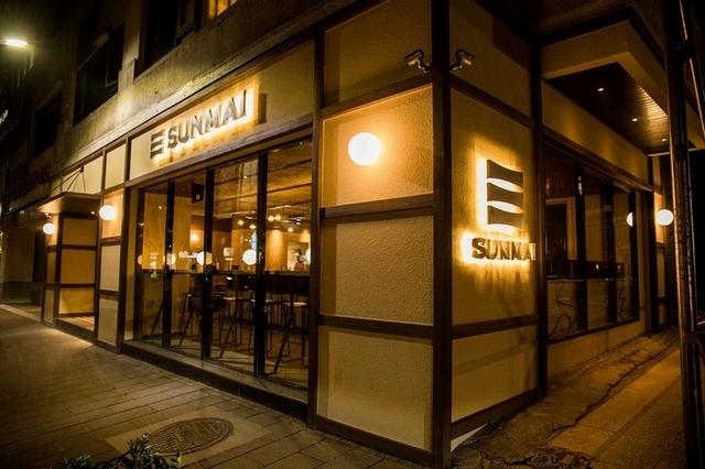 SUNMAI精釀啤酒首家街邊店敦南安和商圈開幕,街角的療癒小角落