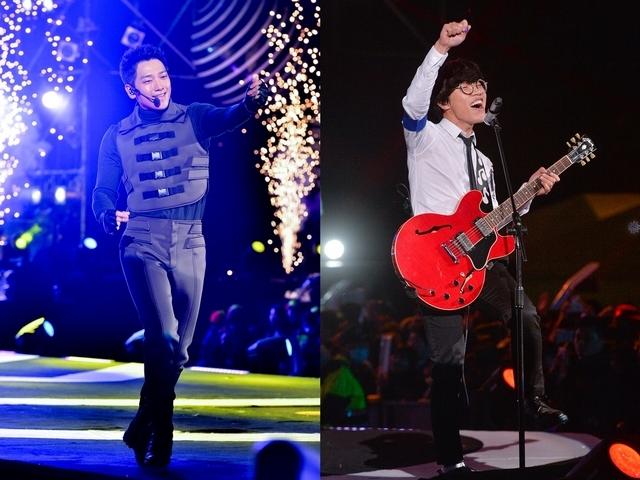 Rain跨年秀登台北收視冠軍 盧廣仲飆海豚音最猛