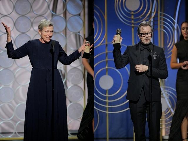 金球獎/蓋瑞歐德曼稱帝 《意外》橫掃4獎大贏家