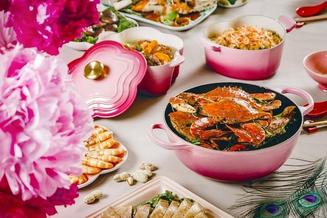 Le Creuset在台十周年,限量「野莓金」新色讓年節餐桌更美麗
