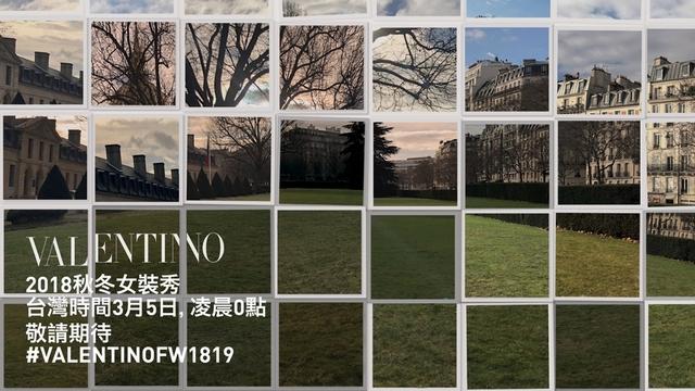 Valentino 2018-19 秋冬女裝秀線上直播