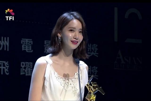 亞洲電影大獎/潤娥奪飛躍新星獎 飆流利中文致謝「兩倍榮幸」