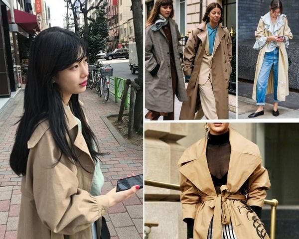天氣忽冷忽熱這樣穿!學學韓星裴秀智用一件風衣完勝都會女性穿搭