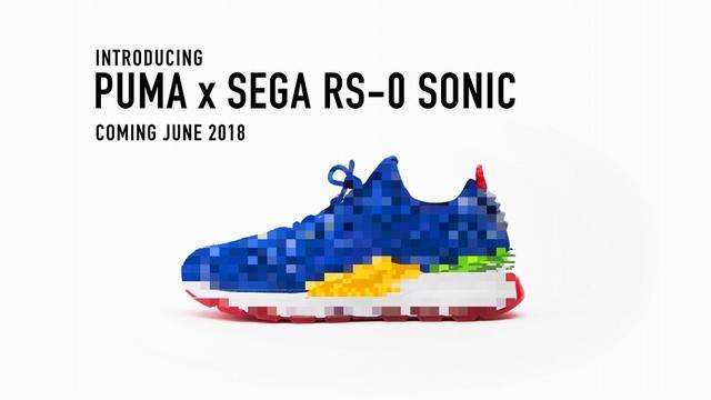 太懷念了吧!PUMA即將推出音速小子聯名鞋款,經典音速藍喚起超多回憶
