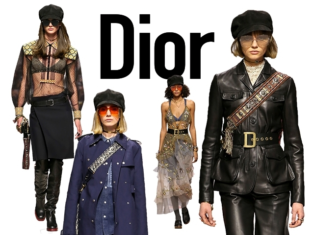 2018秋冬巴黎女裝周Dior  那場五月風暴的力量仍在