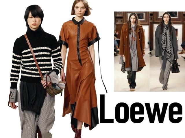 2018秋冬巴黎女裝周Loewe    靜謐後純粹的力量