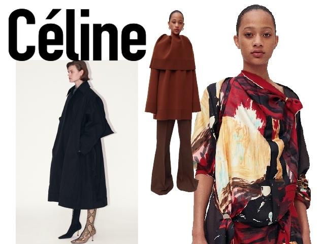 2018秋冬巴黎女裝周Céline    美好時光的總結