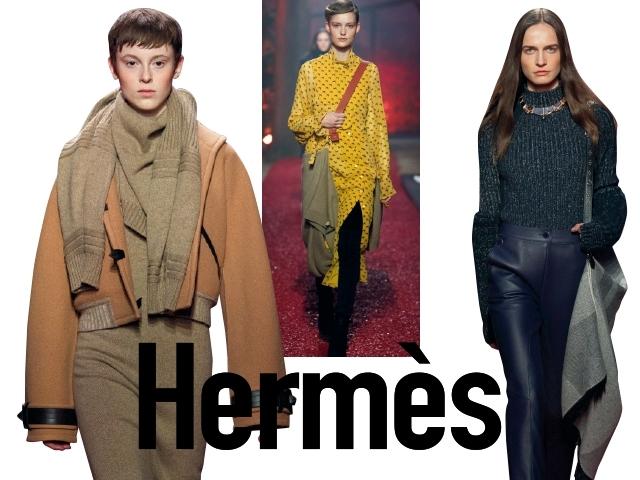 2018秋冬巴黎女裝周Hermès    出其不意的優雅