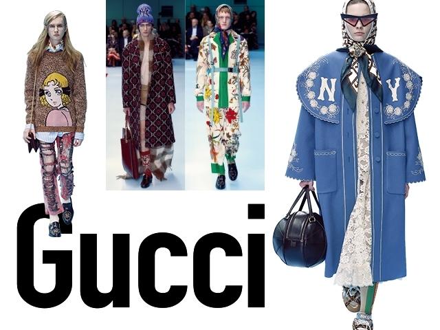 2018秋冬米蘭女裝周Gucci    後賽伯格時尚宣言