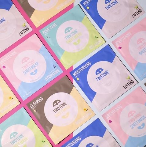絕對適合家人和好友一起敷的面膜 『蘭芝雙色修護面膜』台灣也有了