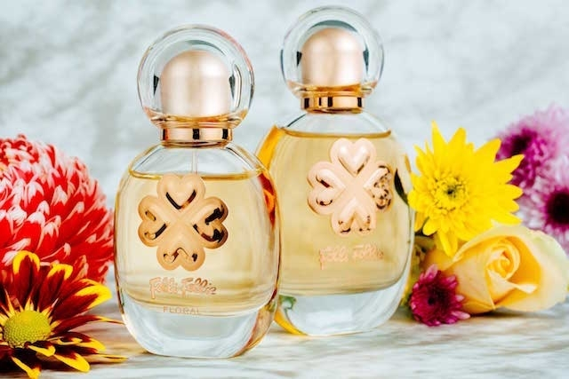 摩登花園 Floral 女性香水 (黃色瓶身) 30ml/NT1,590,50ml/NT2,390。