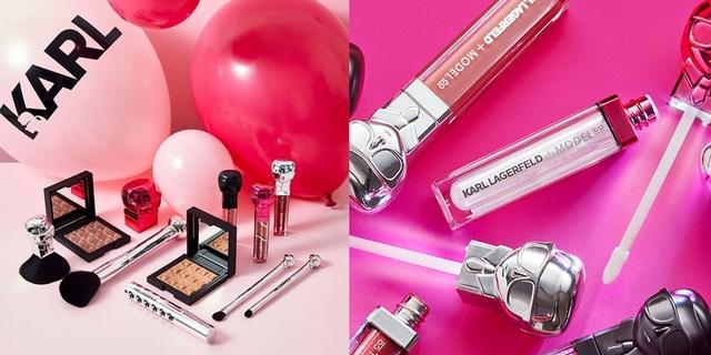 時尚大帝Karl Lagerfeld插旗彩妝界!與Model Co推出限量彩妝,關鍵是萌到犯規!
