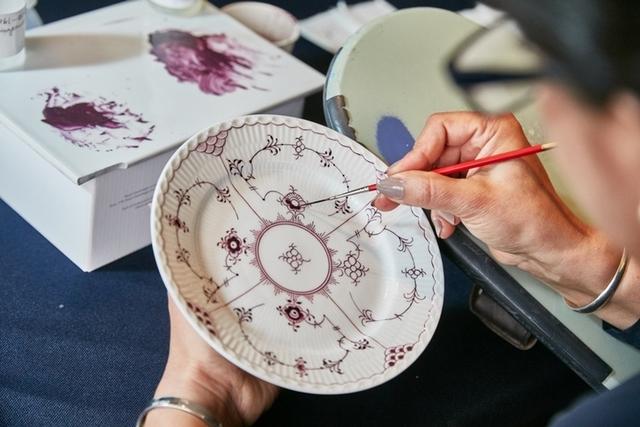 手繪餐瓷之美