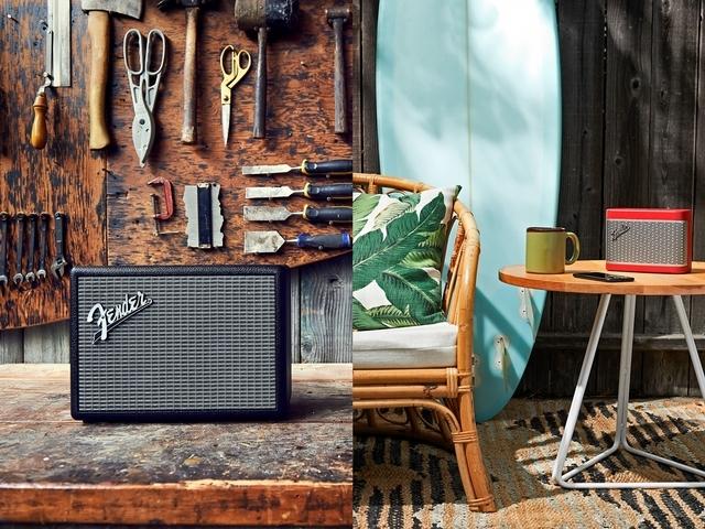 樂迷必備!Fender全球首款經典復刻藍牙喇叭正式登台,完美呈現無差別音質