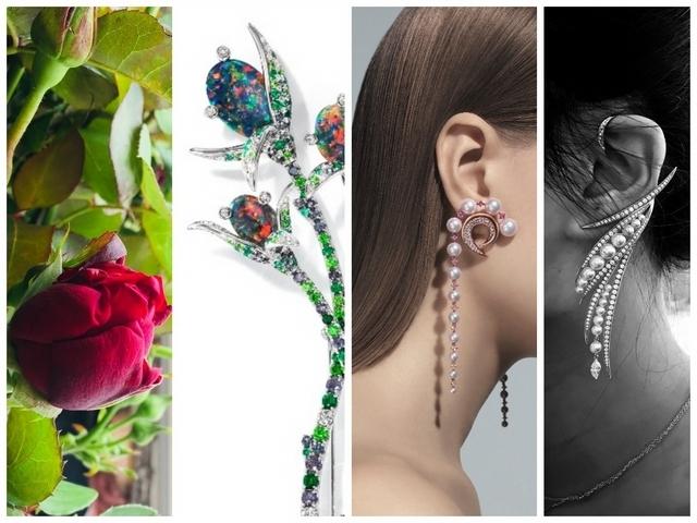 2018巴黎高級珠寶展—TASAKI 花間女人