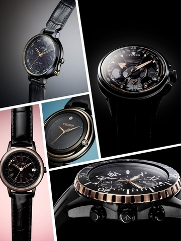 CITIZEN 100週年 9款限量錶黑/金登場!
