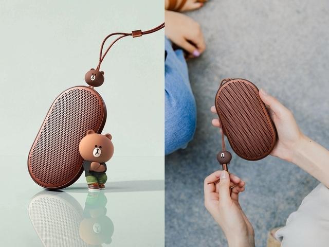 萌萌好聲音!Bang & Olufsen X LINE FRIENDS首款「熊大」Beoplay P2限定款藍牙喇叭在台同步推出