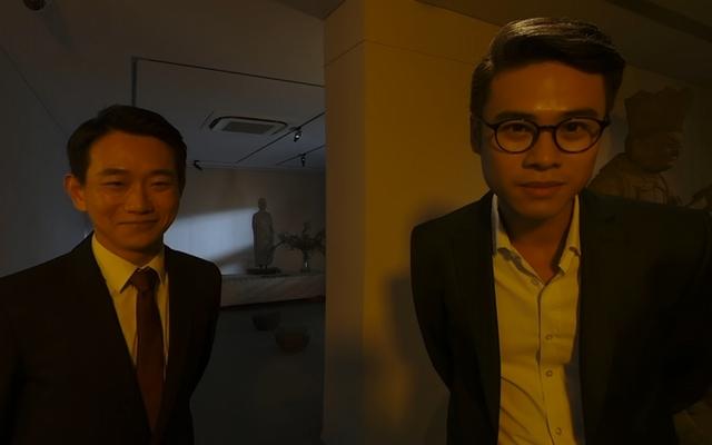 吳定謙VR初體驗 年紀到了撞臉老爸吳念真