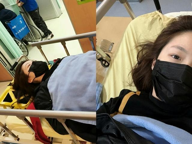 楊小黎摔傷急送醫  「痛到躺在雨中不能動」
