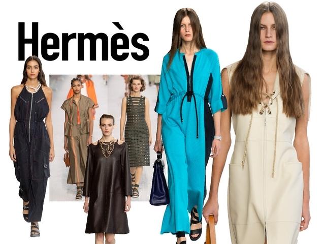 〈2019春夏巴黎女裝周〉Hermès    浪漫遠征