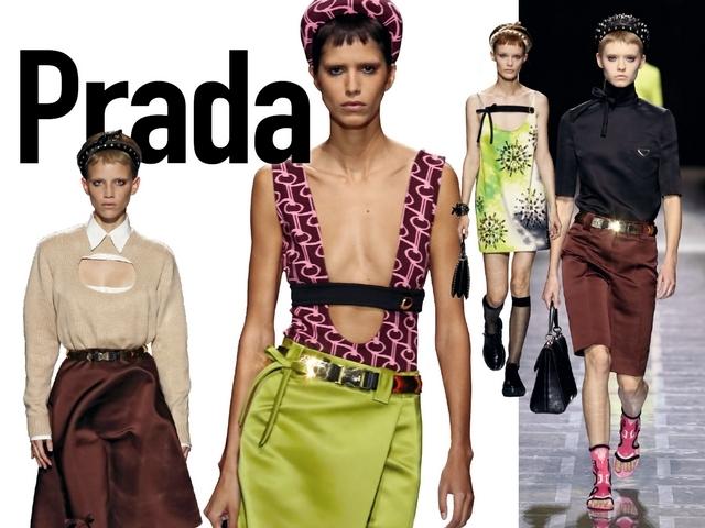 〈2019春夏米蘭女裝周〉Prada  在我自由的宇宙裡
