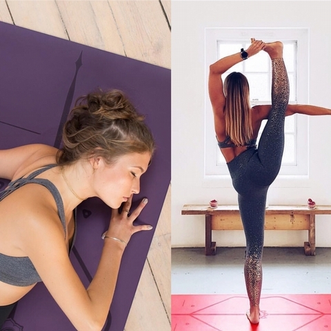 Ig上瑜珈狂人,最愛曬的一張墊子就是Liforme,用過的人都因為它的止滑效果讚不絕口