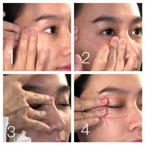 眼霜按摩必學三招式,讓雙眼跟韓劇女主一樣楚楚動人!