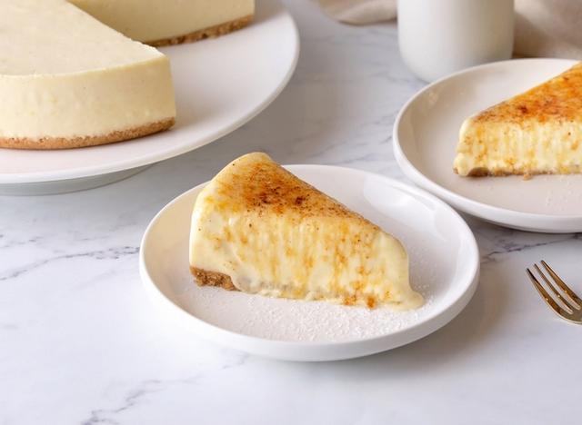 火焰炙烤青檸細雪乳酪