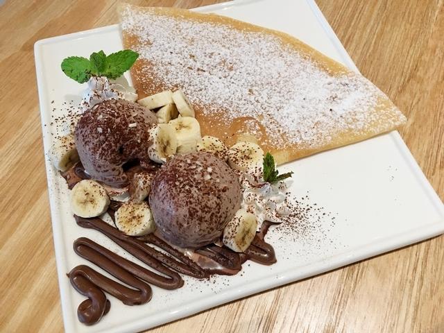 香蕉巧克力冰淇淋 Nutella NT.260