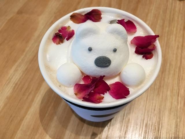 玫瑰拿鐵+寶拉熊 NT.270